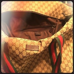 Gucci Duffle carry-on